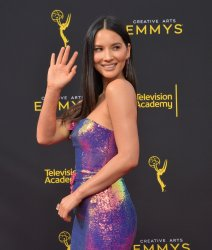 Olivia Munn attends Creative Arts Emmy Awards in Los Angeles
