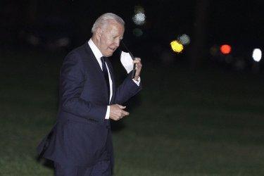 President Joe Biden returns from Oklahoma