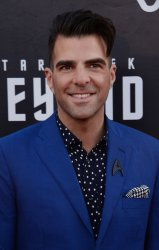 """Zachary Quinto attends the """"Star Trek Beyond"""" premiere in San Diego"""