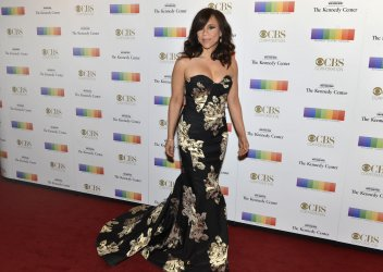 Actress Rosie Perez arrives for Kennedy Center Honors Gala in Washington DC