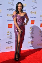 Tamera Mowry attends the 50th NAACP Image Awards in Los Angeles