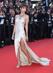 Emily Ratajkowski attends the Cannes Film Festival