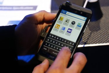 Blackberry 10 launch event in New York