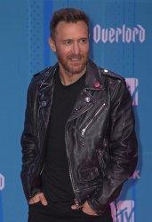 David Guetta attends the MTV Europe Music Awards in Bilbao