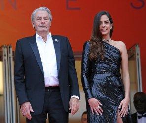 Alain Delon and Anouchka Delon attend the Cannes Film Festival