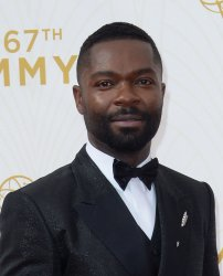 David Oyelowo arrives at the 67th Primetime Emmys in Los Angeles