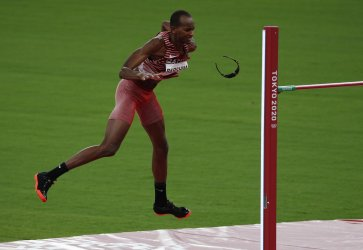 Mens High Jump Finals at Tokyo Olympics