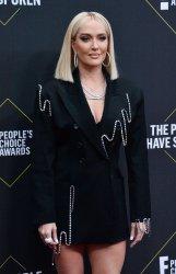 Erika Jayne attends E! People's Choice Awards in Santa Monica