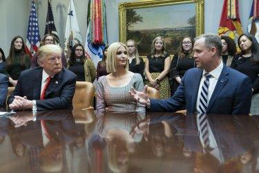 President Trump Calls to Congratulates NASA Astronauts on Historic Space Walk