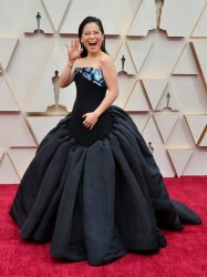 Kelly Marie Tran arrives for the 92nd annual Academy Awards in Los Angeles