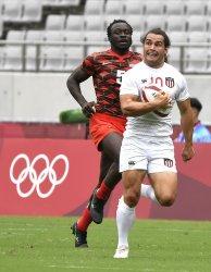USA vs Kenya Rugby Sevens match at the Tokyo Olympics
