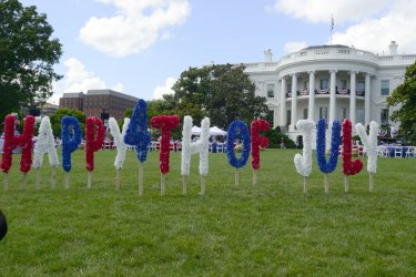 Independence Day Celebration at the White House in Washington