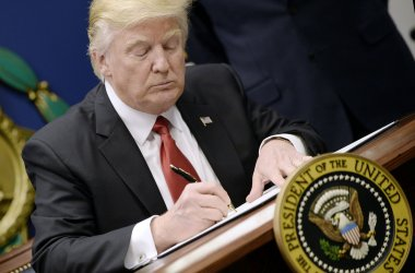 US President Trump signs Executive Orders