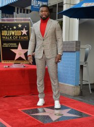 """Curtis """"50 Cent"""" Jackson receives star on the Hollywood Walk of Fame"""