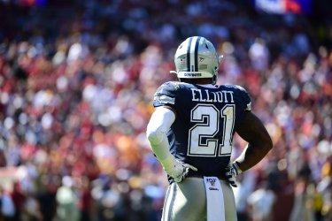 Cowboys running back Ezekiel Elliott