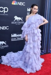 Sofia Carson attends the 2019 Billboard Music Awards in Las Vegas
