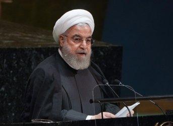 President of Iran Hassan Rouhani at UN GA