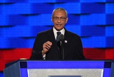 John Podesta, chair of the 2016 Clinton campaign, speaks at the DNC in Philadelphia