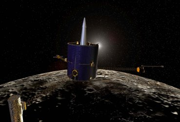 Lunar Prospector set to destroy itself in search of water ice