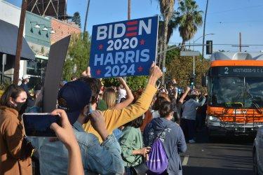 Los Angeles Celebrates Biden/Harris Election Victory