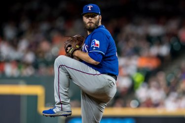 Rangers starting pitcher Lance Lynn