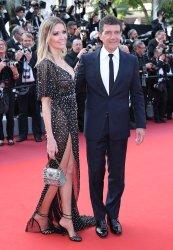 Antonio Banderas and Nicole Kimpel attend the Cannes Film Festival