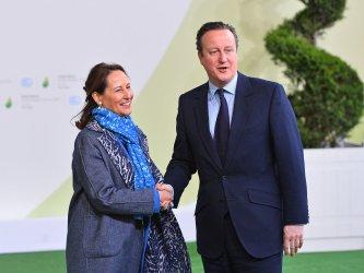 David Cameron Arrives at Opening of UN Climate Summit Near Paris