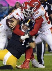 Pittsburgh Steelers Quarterback Ben Roethlisberger in Pittsburgh