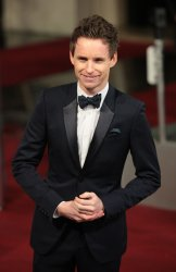 Eddie Redmayne arrives at the Baftas Awards Ceremony