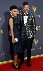 Lena Waithe and Alana Mayo attend the 69th annual Primetime Emmy Awards in Los Angeles