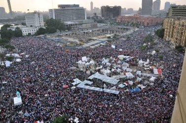Egyptian Protesters Demand President Mohamed Morsi Resign in Cairo