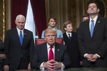 TRUMP INAUGURATION IN WASHINGTON DC