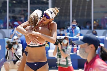 Women's Beach Volleyball Finals at the Tokyo Olympics