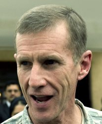 Gen. McChrystal addresses Afghan Parliament on troop buildup in Kabul