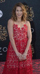 """Allison Holker attends the """"Alice Through the Looking Glass"""" premiere in Los Angeles"""