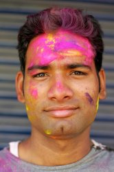 Indians celebrate Hindu festival of colors, Holi