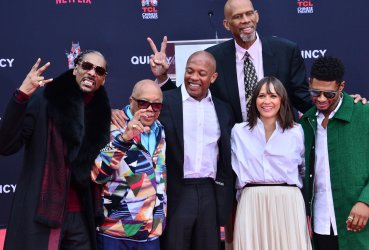 Quincy Jones immortalized in forecourt of TCL Chinese Theatre in Los Angeles