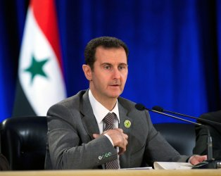 Syrian leader Bashar al-Assad in Damascus