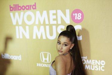 Ariana Grande at the Billboard Women In Music 2018