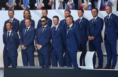 Team Europe at the Ryder Cup 2018 Opening Ceremony