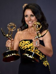 Julia Louis-Dreyfus wins awards at the 69th annual Primetime Emmy Awards in Los Angeles