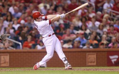 St. Louis Cardinals Jedd Gyorko hits two run home run