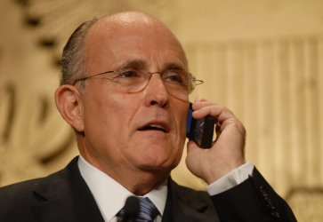 RUDY GIULIANI SPEAKS AT NRA CONVENTION IN WASHINGTON