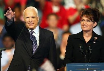 John McCain Campaigns in Dayton, ohio