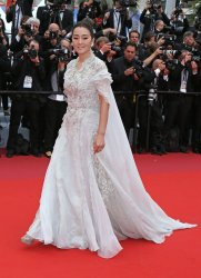 Gong Li attends the Cannes Film Festival