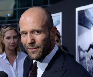 """Jason Statham attends the """"Mechanic: Resurrection"""" premiere in Los Angeles"""