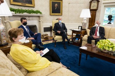 President Joe Biden Makes Remarks on American Jobs Plan