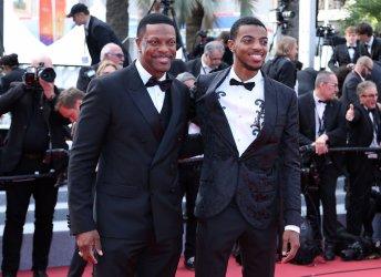 Chris Tucker and Destin Tucker attend the Cannes Film Festival