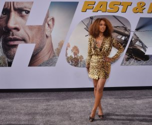 """Eve attends the """"Fast & Furious Presents: Hobbs & Shaw"""" premiere in Los Angeles"""