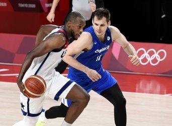 USA vs Czechoslovakia Men's Basketball at the Tokyo Olympics
